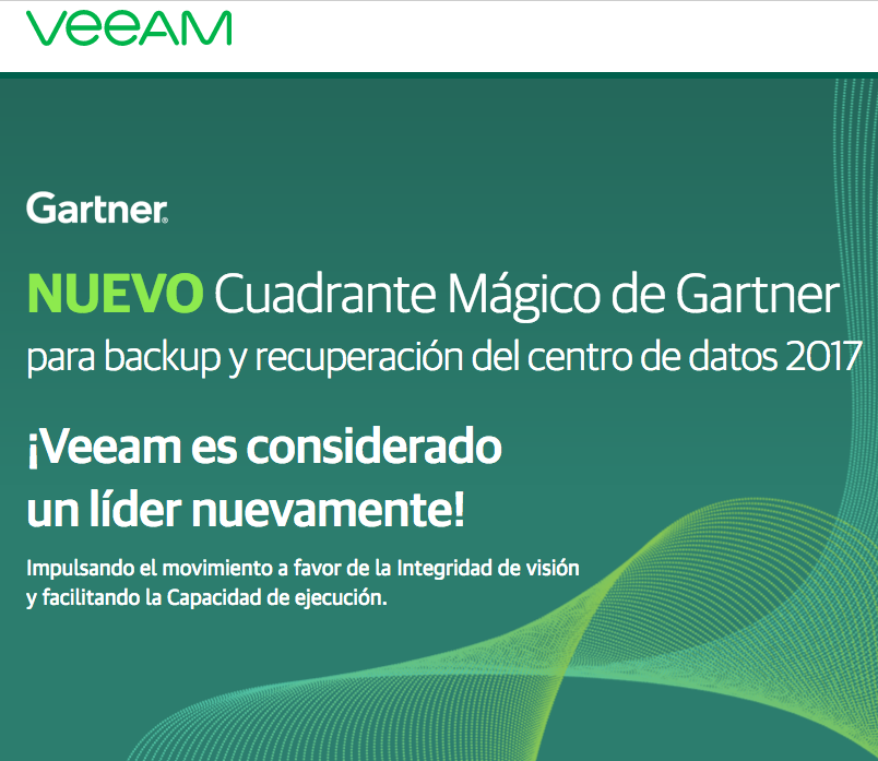 Veeam informe Gartner