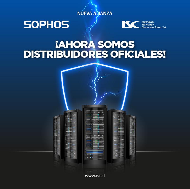 Nueva alianza Sophos + ISC: ¡Ahora somos distribuidores oficiales!