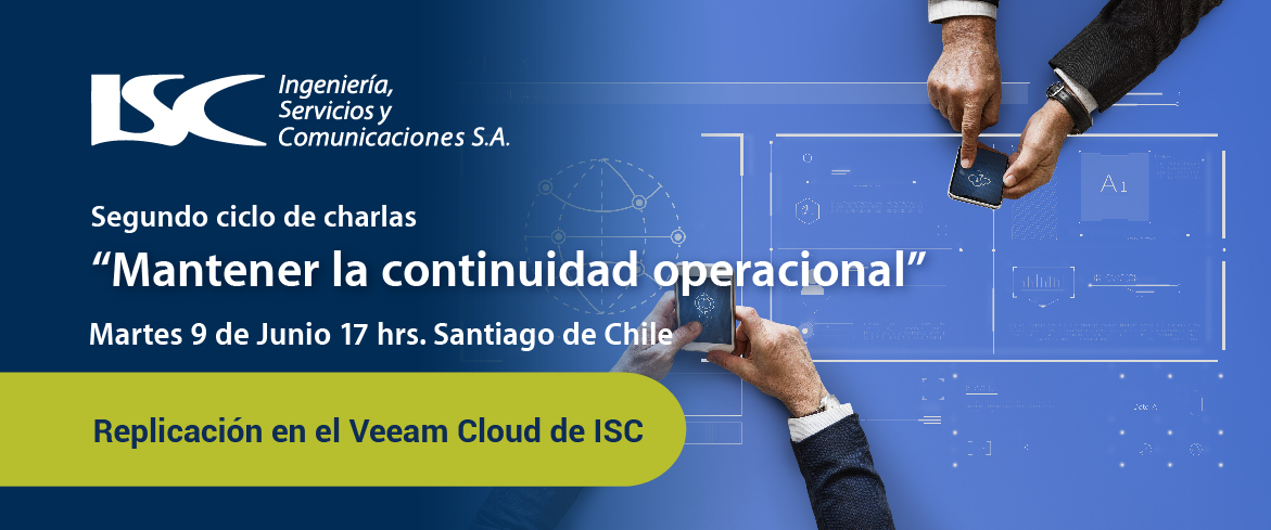 Webinar: Replicación en el Veeam Cloud de ISC